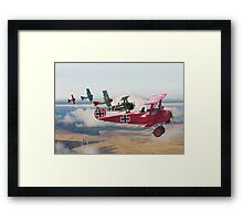 WW1 - Circus comes to Town Framed Print