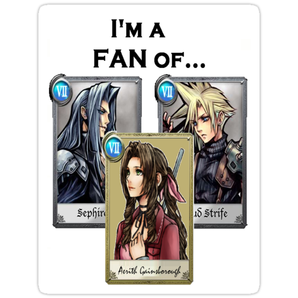 DISSIDIA 012 REPORTS - 'I'm A Fan Of...' by FFSteF09