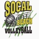 Southern California Beach Volleyball by SportsT-Shirts