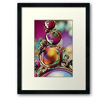 Explosion of Colour Framed Print