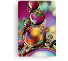 Explosion of Colour Canvas Print