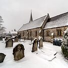 Winter at St Paul by Adrian Evans