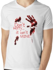 Don't worry, it's not mine Mens V-Neck T-Shirt