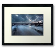 Pull of the tides Framed Print