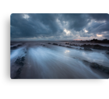 Pull of the tides Canvas Print