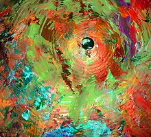psychedelic cymbal by KarenColville