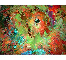 psychedelic cymbal Photographic Print