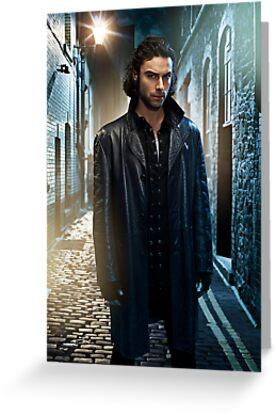 Aidan Turner as John Mitchell Being Human UK Poster by aidanturner