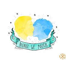 Because We Match by Kaleigh Jacobson