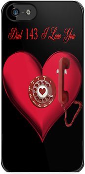 ❤ 。◕‿◕。 DIAL 143 I LOVE U IPHONE CASE ❤ 。◕‿◕。 by ╰⊰✿ℒᵒᶹᵉ Bonita✿⊱╮ Lalonde✿⊱╮