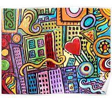 Pretty City Poster