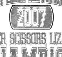 Rock, Paper, Scissors, Lizard, Spock Sticker