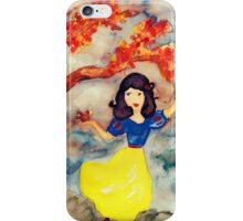 Snow White in the Forest iPhone Case/Skin