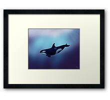 Lost in Fantasy Framed Print