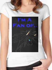 Wolf Prince Audiobook - I'm A Fan Of... (Black) Women's Fitted Scoop T-Shirt