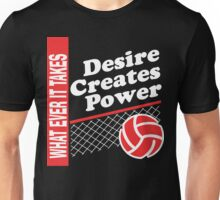 """Volleyball """"Whatever It Takes"""" Dark Unisex T-Shirt"""