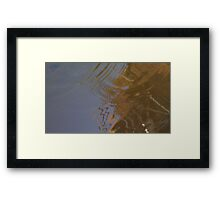 Ripples - III Framed Print