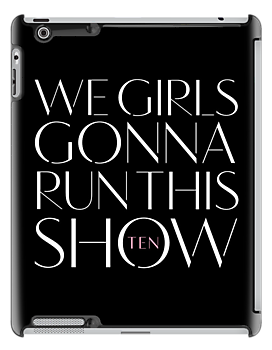 Girls Aloud - We Girls Gonna Run This Show- White lyrics by Hrern1313