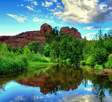 Sedona Red Rock Crossing by Diana Graves Photography