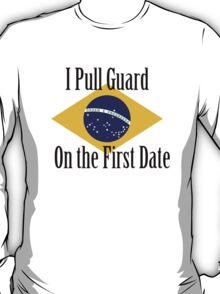 First Date BJJ (Black) T-Shirt