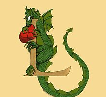 """Oscar and the Roses """"L - Tail"""" (Illustrated Alphabet) by Donna Huntriss"""