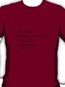 Mr H. Potter T-Shirt