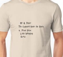Mr H. Potter Unisex T-Shirt