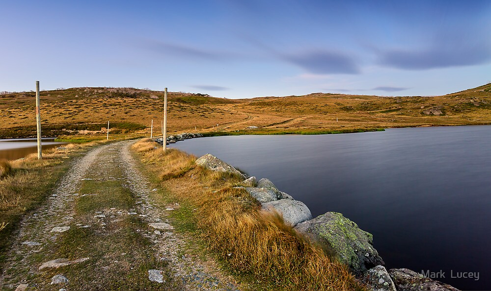The Hut's Path  by Mark  Lucey