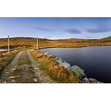 The Hut's Path  Photographic Print