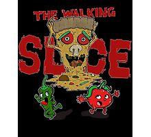 The Walking Slice Photographic Print