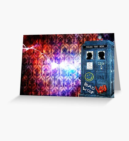 Consulting Time Lord Greeting Card