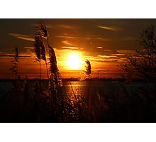 Sunset on the East End of Long Island Photographic Print