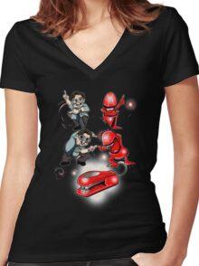 Milton's Revenge Women's Fitted V-Neck T-Shirt