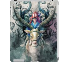 Ashitaka Demon Mononoke Digital Painting iPad Case/Skin