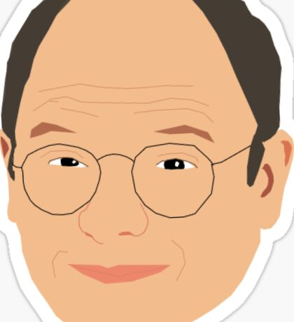 Costanza - Lord of the Idiots Sticker