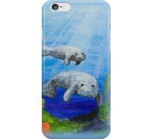 Sea Manatees  iPhone Case/Skin