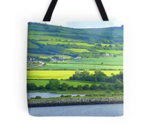 Green With A Patch Of Yellow Tote Bag