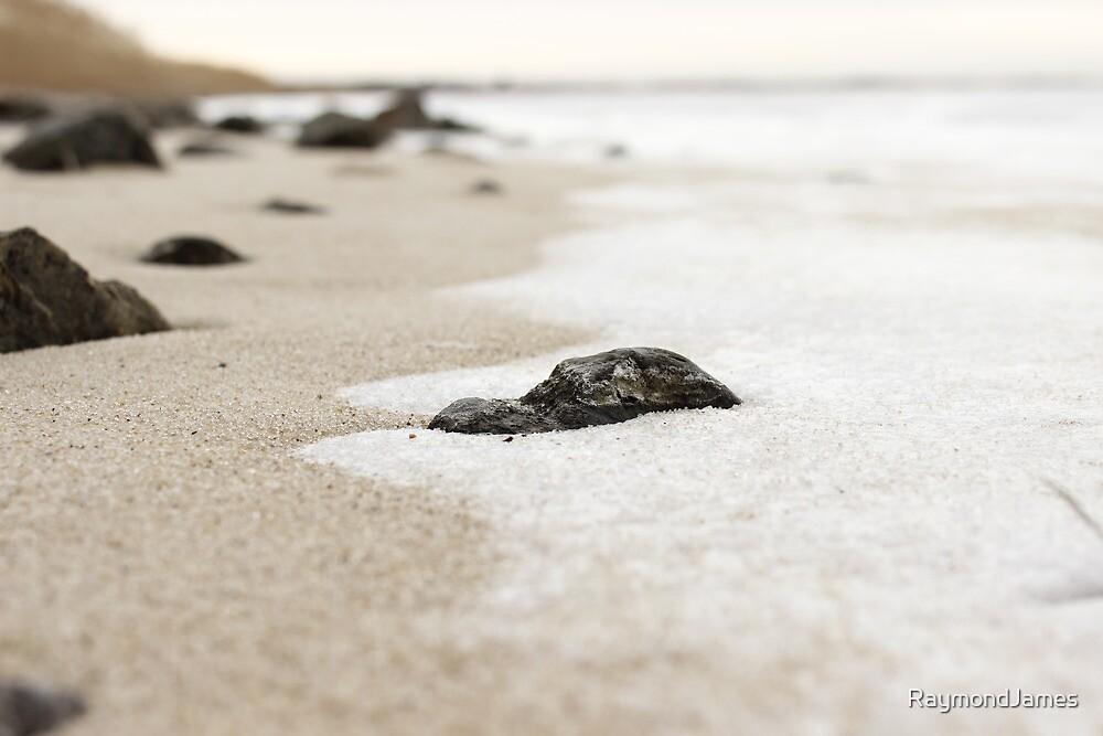 Sand, Snow and Rocks by RaymondJames