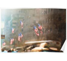 Winter Sun on Fifth Avenue Poster