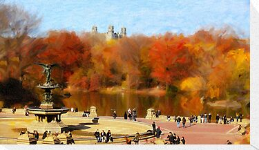 Central Park by out-art