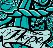 Anchor Roses 100+Views Sticker