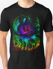 Psychadelic Mushroom Alice in Wonderland T-Shirt