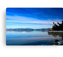 Tahoe Layers Canvas Print