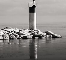 Lonely Lighthouse by Shane Laing
