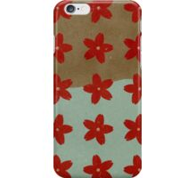 Red Hana iPhone Case/Skin