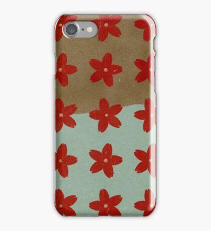 Red Hana iPhone Case/Skin