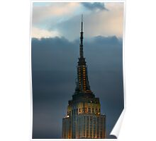 Empire State Building Punches Through... Poster