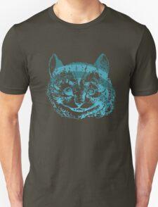 Cheshire Cat Striped Blue T-Shirt