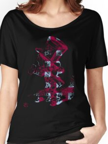 Checkered Mad Hatter Women's Relaxed Fit T-Shirt
