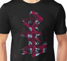 Checkered Mad Hatter Unisex T-Shirt